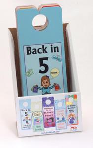 Knobie Talk Door Hangers for Quilters - 36 pc Quilt Shop Starter Pack.