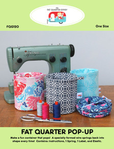 FQG120 Fat Quarter Pop Up Pattern and Hardware