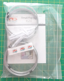 "FQG121B Small 5.5"" Refill Bulk Pack"