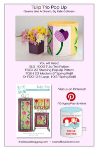 Tulip Trio Pop Up Info Sheet