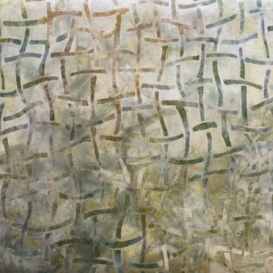 "Artisian Batik Texture Study 2 Celadon Image Dimensions: approx. 7"" square"