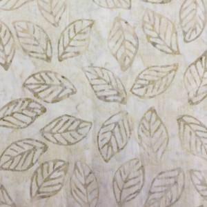 "Tonga Beige Batik Size Approx 6.5""x 6.5"""