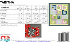 FQG108pdf Tabitha Quilt Pattern