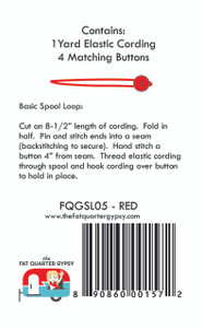 FQGSL05 Spool Loops - Red