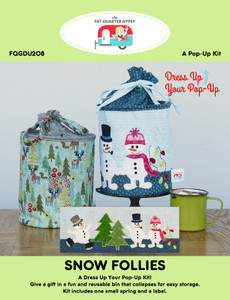 FQGDU208 Snow Follies Pop Up Kit