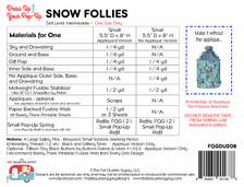 FQGDU208 Snow Follies Pop Up Kit