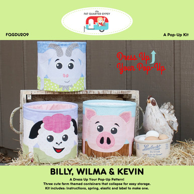 FQGDU209 Billy, Wilma & Kevin Pop Up Kit