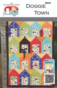 FQG102 Doggie Town Quilt Pattern