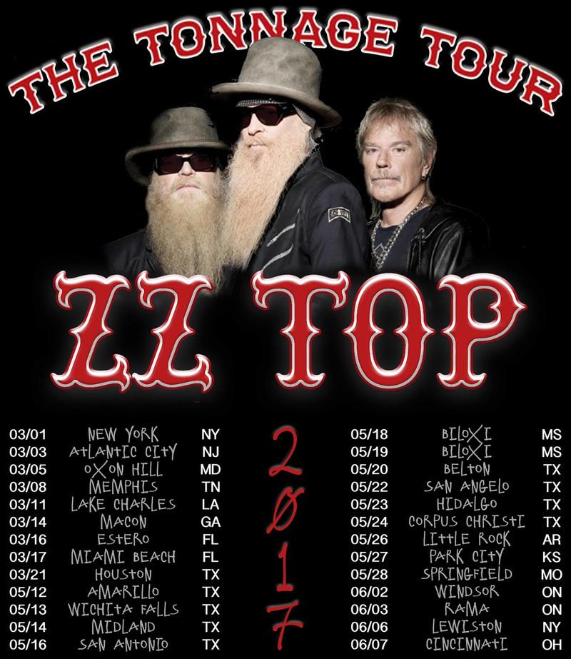 Zz Top Tonnage Tour Review