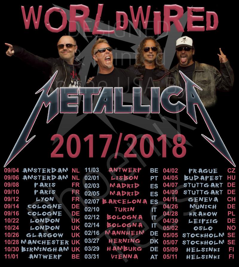 Metallica Tours S