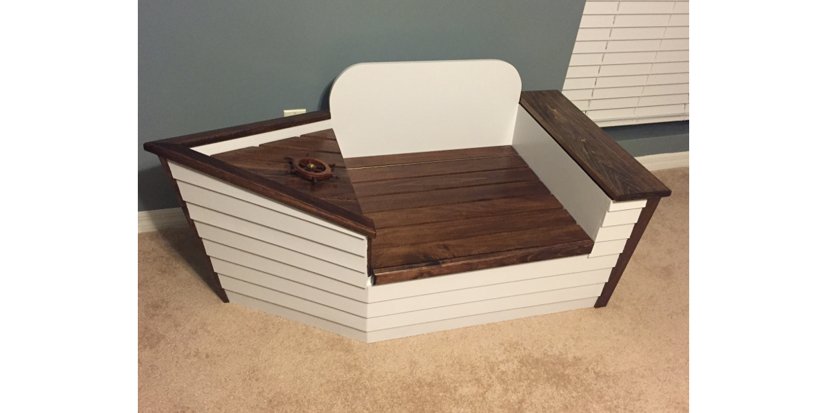 Boat Toy Chest