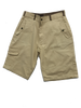 BRUSHED COTTON TWILL CARGO SHORTS