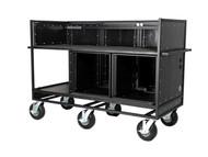 Triple Mixer Cart