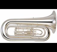 "YAMAHA YBB-201MWC Marching BBb Tuba – 17.5"" Bell"