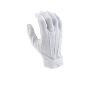 White Hook/Loop Cotton Gloves