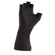 Black Long-wristed Cotton (fingerless) Gloves