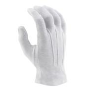 White Sure-grip Gloves