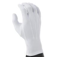White Nylon (one-size-fits-all) Gloves