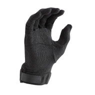 Black Deluxe Hook/Loop-grip Gloves