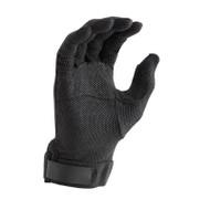 Black Deluxe Hook/Loop-grip Gloves