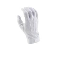 White Deluxe Hook/Loop-grip Gloves