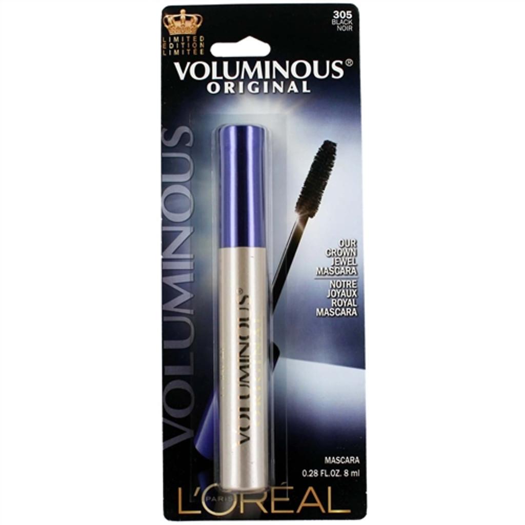 Loreal Voluminous Original Crown Jewel Mascara - Black 305