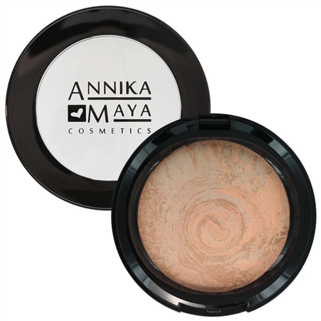 Annika Maya Baked Finishing Powder - Satin Glow