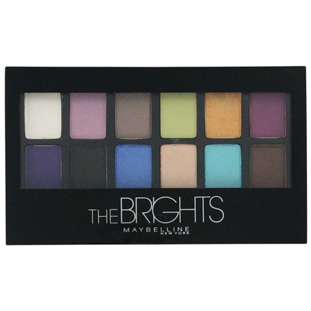 Maybelline The Brights Shadow Palette