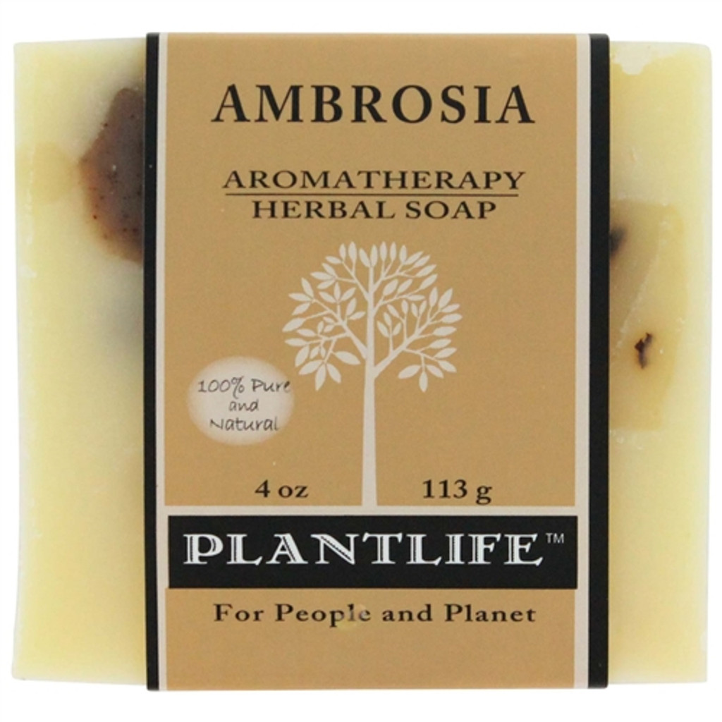 Plantlife Aromatherapy Herbal Soap - Ambrosia