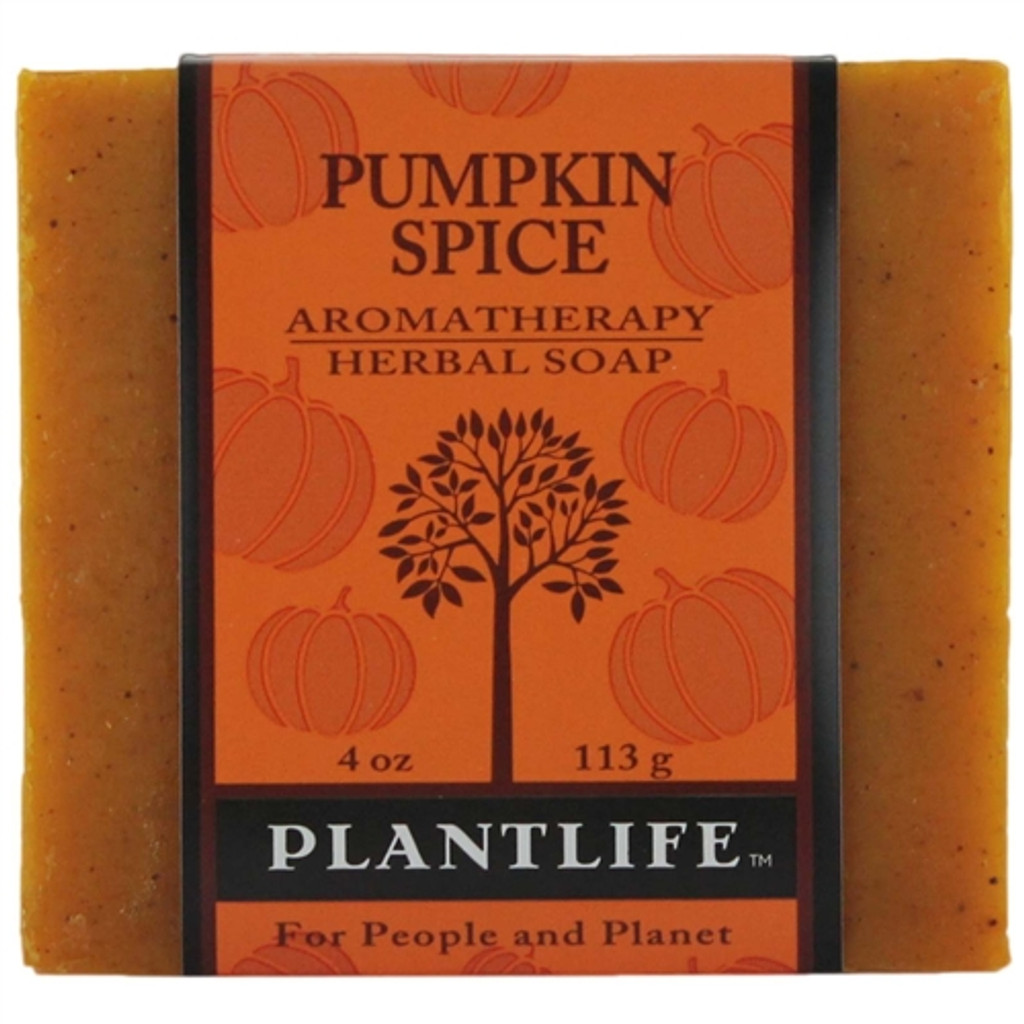 Plantlife Aromatherapy Herbal Soap - Pumpkin Spice