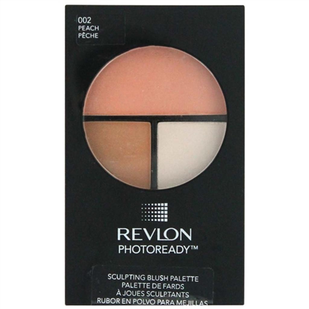 Revlon Photoready Sculpting Blush Palette - Peach 002