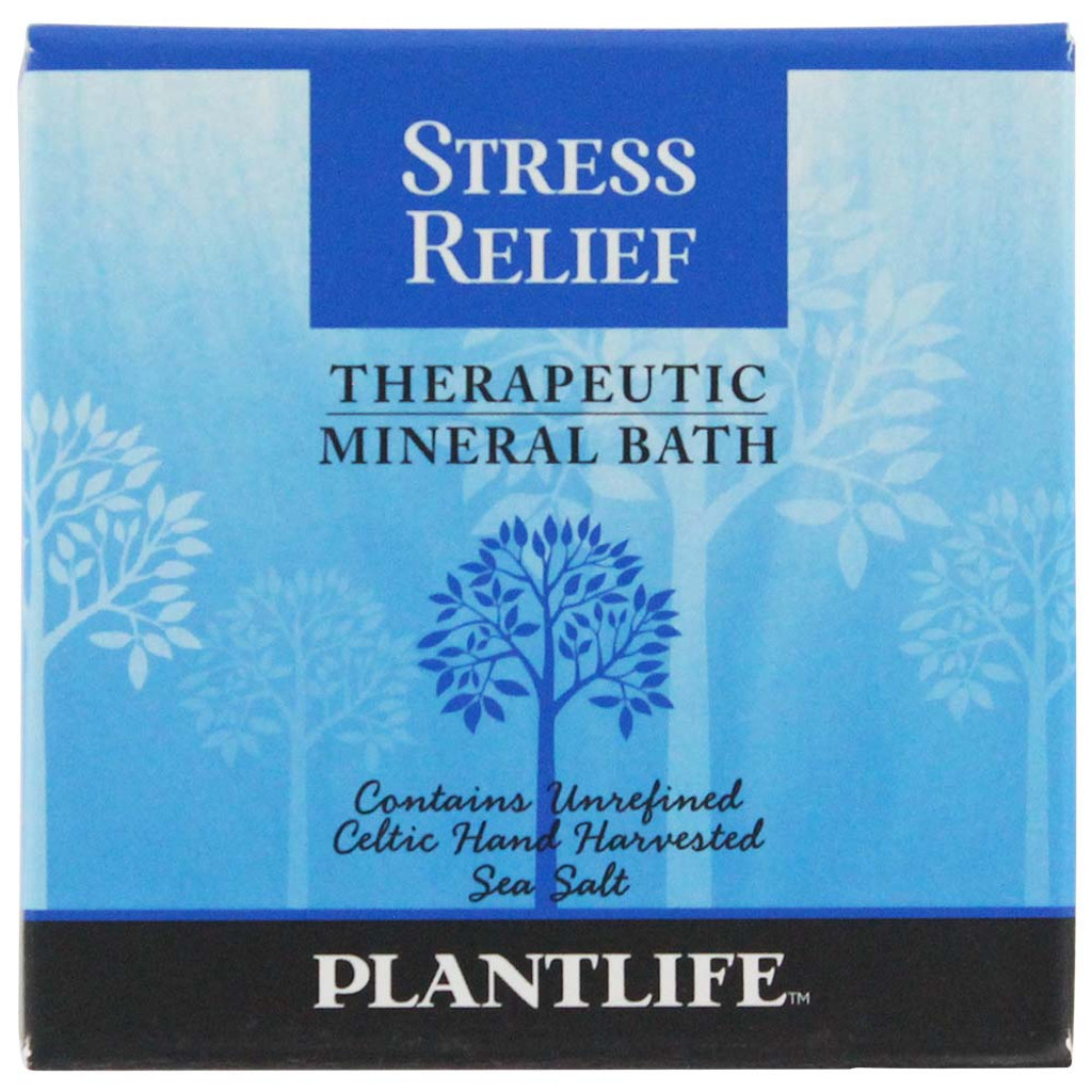 Plantlife Therapeutic Mineral Bath - Stress Relief
