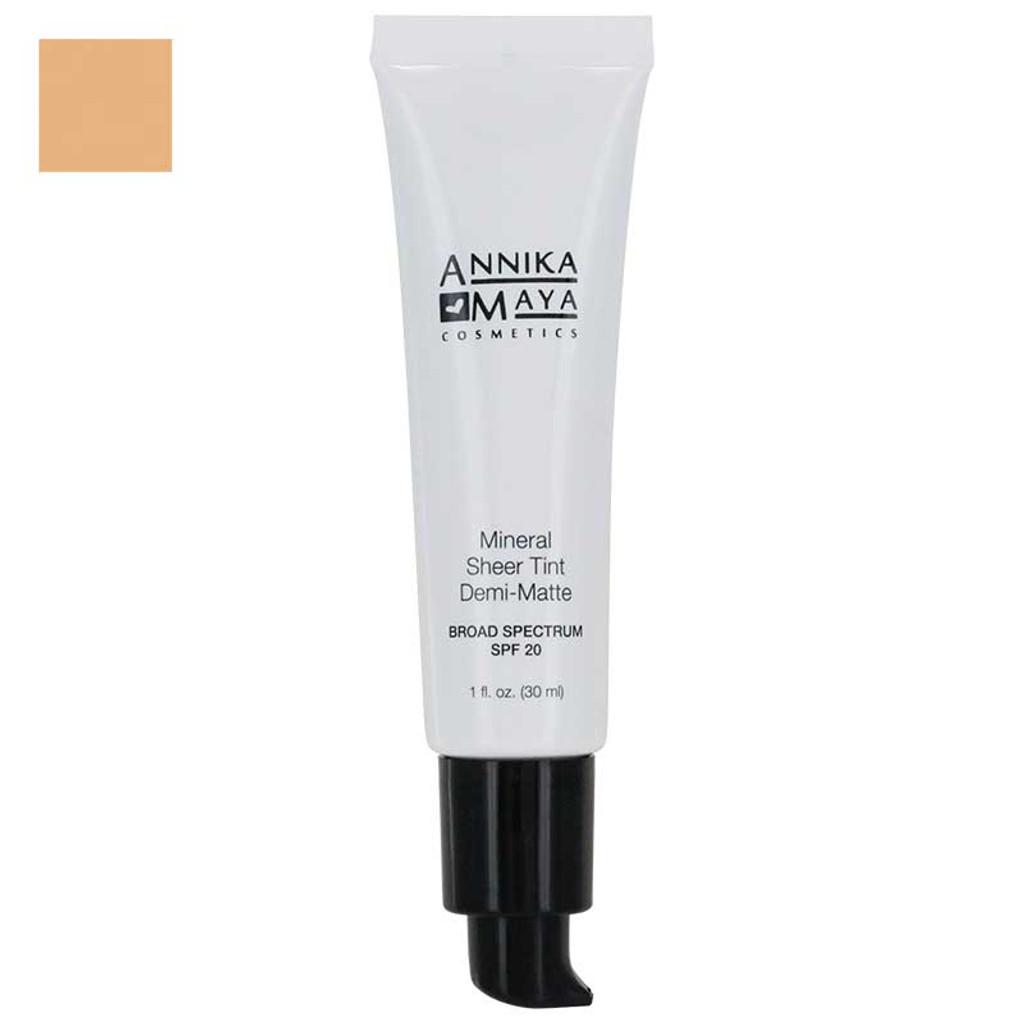Annika Maya Mineral Sheer Tint Demi-Matte - Cameo 02