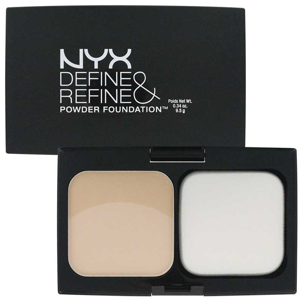 NYX Define & Refine Powder Foundation - Fair
