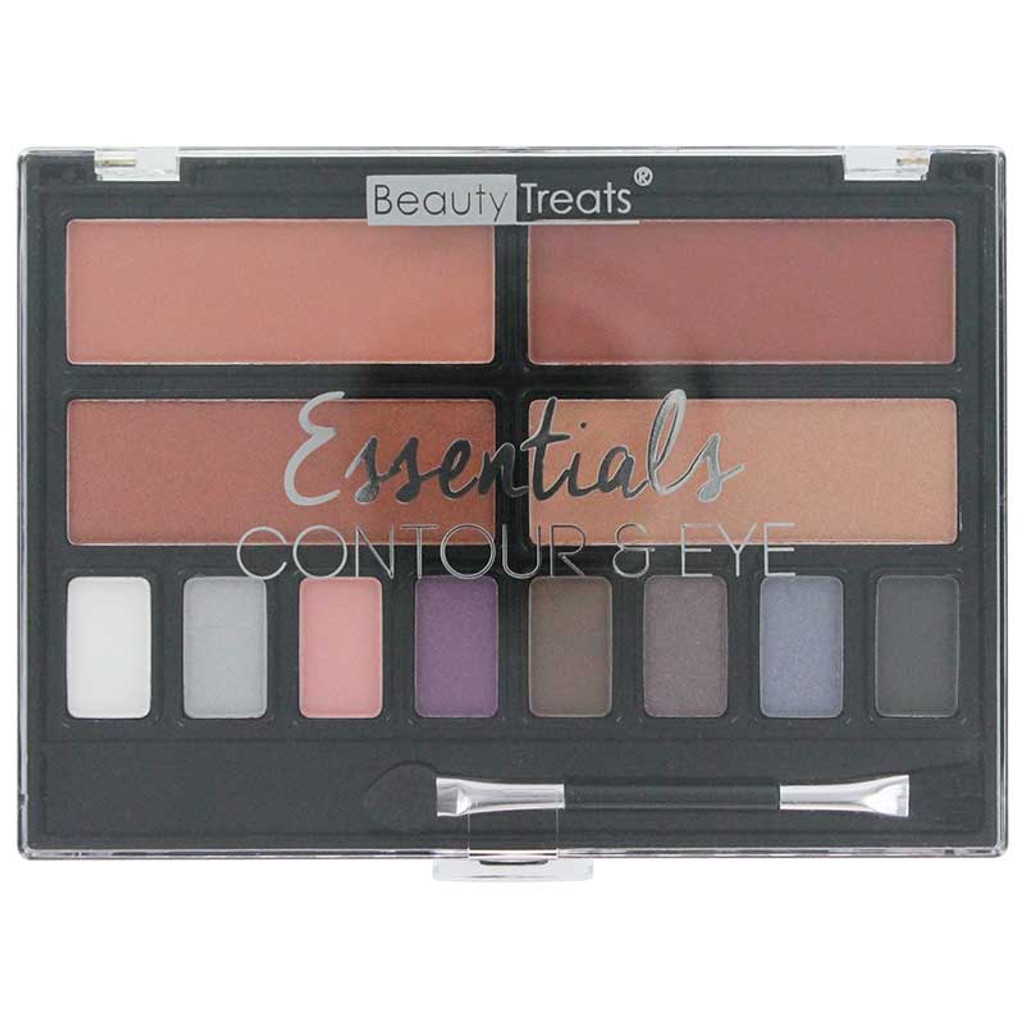 Beauty Treats Essentials Contour & Eye Palette - Night