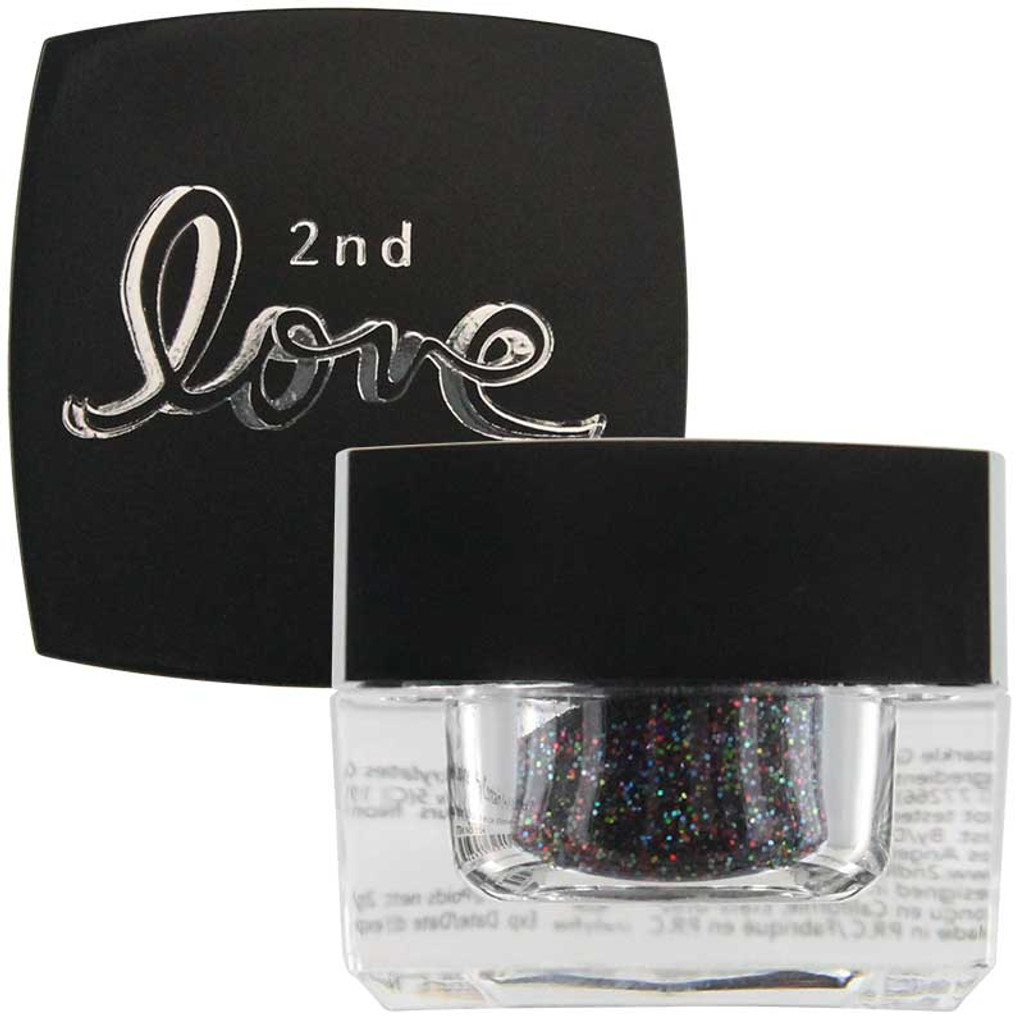 2nd Love Loose Sparkle Glitter - Black