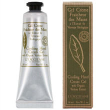 L'occitane Verbena Cooling Hand Cream Gel 1 oz (30ml)