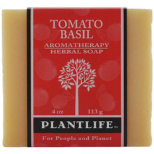 Plantlife Aromatherapy Herbal Soap - Tomato Basil