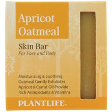 Plantlife Skin Bar - Apricot Oatmeal
