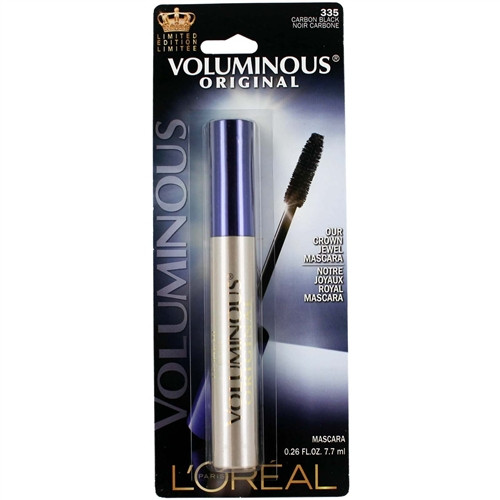Loreal Voluminous Original Crown Jewel Mascara - Carbon Black 335