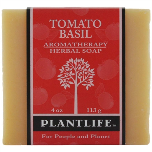 Plantlife Aromatherapy Herbal Soap - Tomato Basil