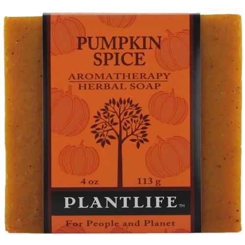 Plantlife Aromatherapy Herbal Soap - Pumpkin Spice