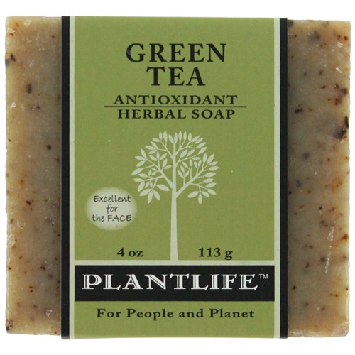 Plantlife Aromatherapy Herbal Soap - Green Tea