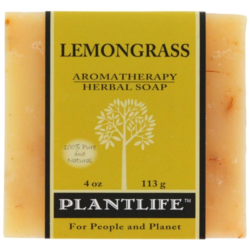 Plantlife Aromatherapy Herbal Soap - Lemongrass