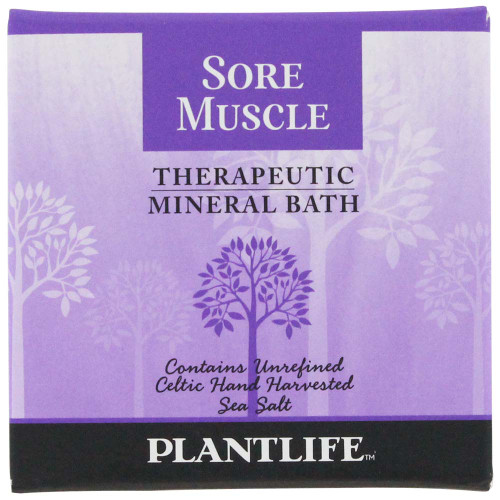 Plantlife Therapeutic Mineral Bath - Sore Muscle
