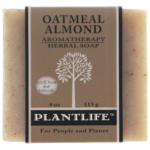 Plantlife Aromatherapy Herbal Soap - Oatmeal Almond