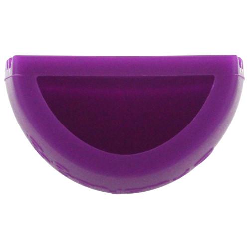 Brushegg Silcone Makeup Brush Cleaning Tool - Purple