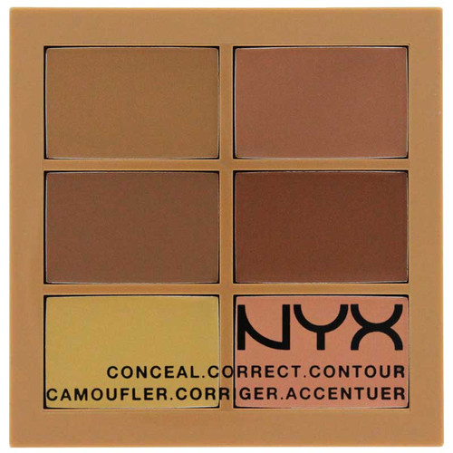 NYX Conceal, Correct, and Contour Palette - Medium