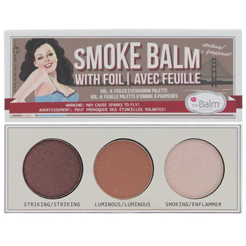 theBalm Smoke Balm Vol. 4 - Foiled Eyeshadow Palette