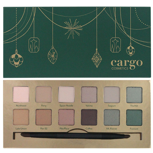 Cargo Emerald City Eye Shadow Palette